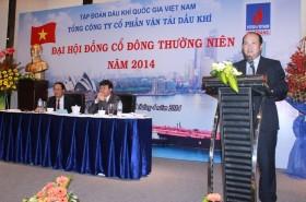 pv trans to chuc dai hoi co dong thuong nien nam 2014