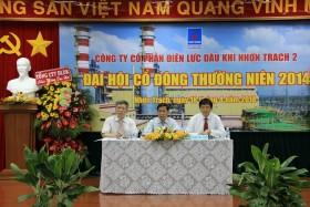 pvpower nhon trach 2 to chuc dai hoi co dong thuong nien