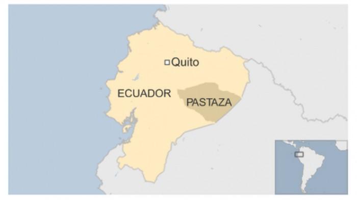 Rơi máy bay quân sự ở Ecuador: 22 người chết