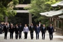 Lãnh đạo G7 thăm ngôi đền linh thiêng nhất Nhật Bản