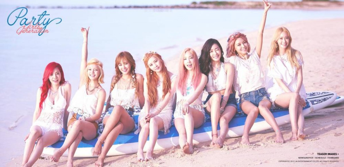 girls generation tai xuat voi party