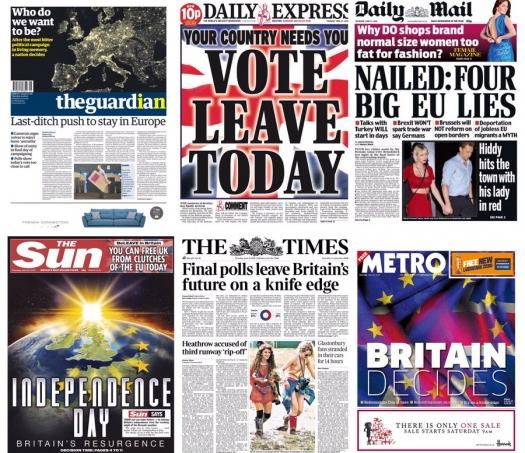 Cuộc trưng cầu dân ý lịch sử đã bắt đầu ở Anh