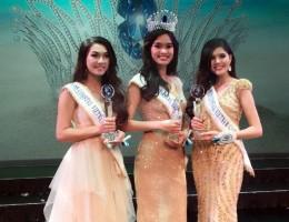 Người đẹp Quỳnh Chi đạt giải Hoa hậu Biển xanh toàn cầu 2015