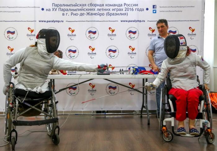 doan the thao nga bi cam tham du paralympic 2016