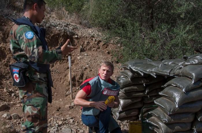 'James Bond' tham gia rà phá bom mìn ở cộng hòa Síp