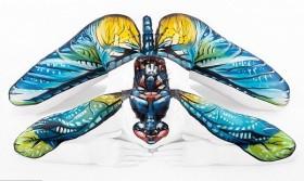 Nghệ thuật body painting hô biến người thành...động vật