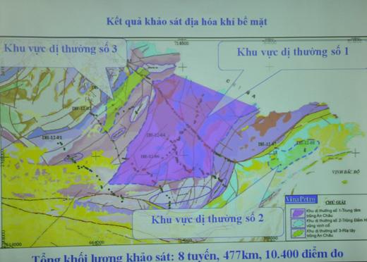 Tiềm năng dầu khí trũng An Châu - Đông Bắc bộ