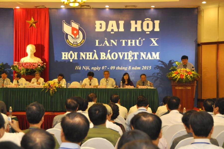 Khai mạc Đại hội lần thứ X Hội Nhà báo Việt Nam (nhiệm kỳ 2015-2020)