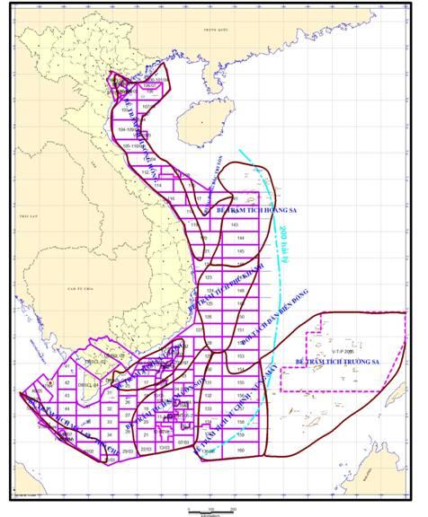 Tìm hiểu về các bể trầm tích dầu khí ở Việt Nam