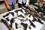 Năm 2014: Công an toàn quốc thu giữ hơn 500 khẩu súng các loại