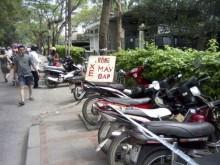 Hà Nội: Giải tỏa các bãi trông xe sai quy định
