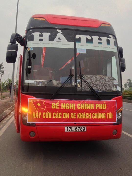 xe khach noi duoi phan doi lenh dieu chuyen luong tuyen