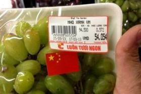 Vụ nho gắn cờ Trung Quốc: Lập luận của những kẻ vì tiền