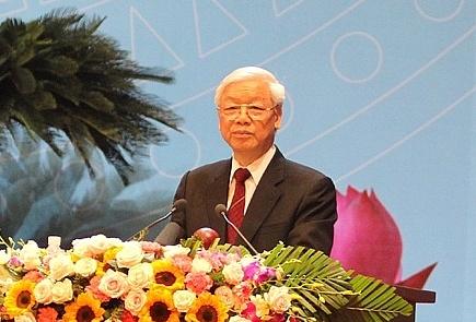 Tổng Bí thư biểu dương phong trào phụ nữ và Hội LHPN Việt Nam