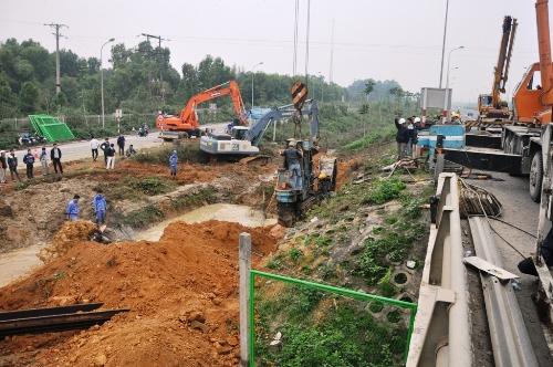Đường ống nước sông Đà - Hà Nội: Vỡ lần thứ 6