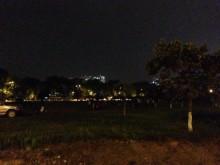 Một người đàn ông tự thiêu gần công viên Hòa Bình