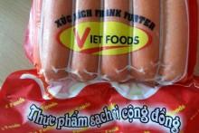 Rùng mình với xúc xích Vietfoods chứa chất gây ung thư