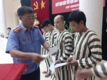 Hà Nội: Giảm án, tha tù trước thời hạn cho 101 phạm nhân