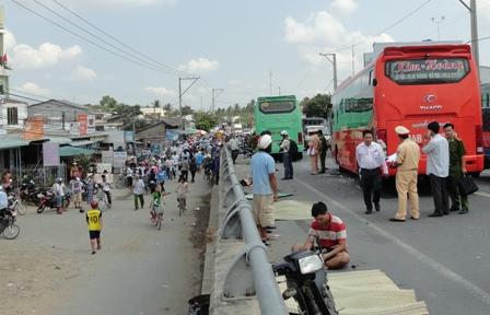 Xe khách gây tai nạn ở Trà Vinh chạy với tốc độ 121km/h