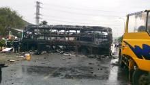 Bàn giao thi thể 12 nạn nhân vụ TNGT ở Bình Thuận