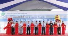 Khánh thành nhà máy sản xuất thuốc bảo vệ thực vật lớn nhất Việt Nam