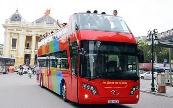 ha noi cuoi thang 5 se khai truong xe 2 tang city tour