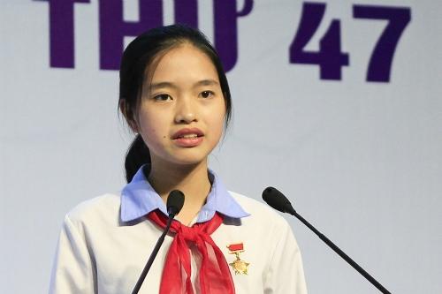 Nữ sinh Hải Dương giành giải nhất viết thư quốc tế UPU