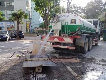 Cư dân VP3 Linh Đàm khốn đốn vì thiếu nước sinh hoạt