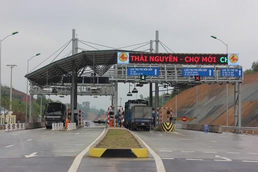 Giảm phí tối đa cho xe qua trạm QL3 Thái Nguyên-Chợ Mới