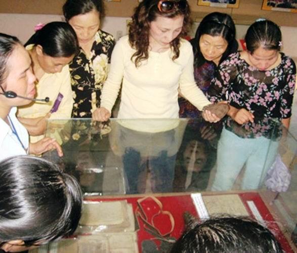 Bức thư `thiêng` ở Thành cổ Quảng Trị