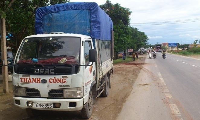 Hai phụ nữ chết thảm vì tài xế xe tải ngủ gật