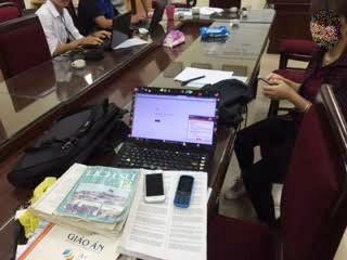 Thông tin thêm về nhóm dùng công nghệ cao giúp thí sinh làm bài thi