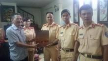 Phòng CSGT Hà Nội tri ân ngày thương binh, liệt sĩ