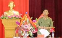 Thượng tướng Đặng Văn Hiếu chỉ đạo điều tra thảm án ở Yên Bái