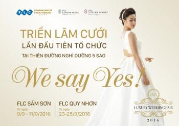 """Đón mùa cưới với ưu đãi lớn tại triển lãm """"We say yes"""""""