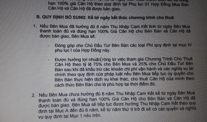 khach hang dat mua can ho khach san du an cocobay co sap bay chiem dung von cua chu dau tu