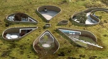 Những ngôi nhà dưới lòng đất