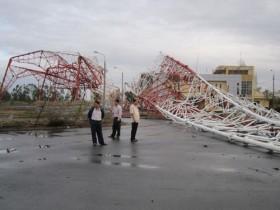 Vì sao Tháp truyền hình Nam Định đổ sập trong bão?