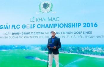 khoi tranh giai flc golf championship 2016