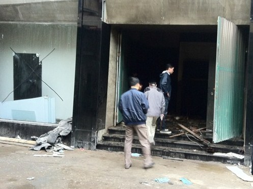 Cơ quan cảnh sát điều tra tiếp nhận hồ sơ vụ hỏa hoạn