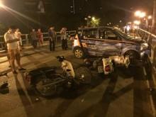 Vụ 'taxi điên' trên cầu vượt: Tài xế được chuyển viện