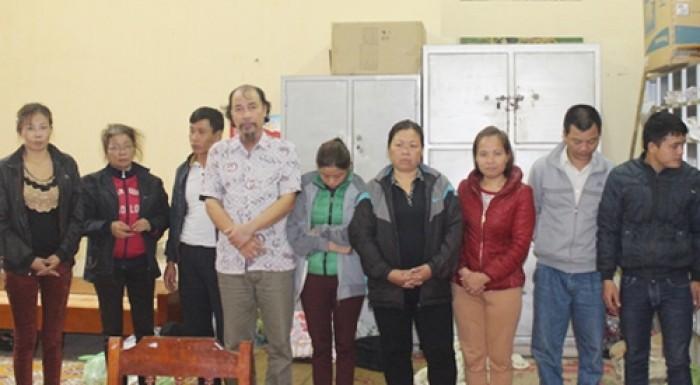 thai nguyen bat 10 con bac tren doi keo