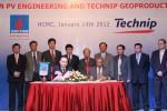 PVE và Technip Geoproduction ký kết Hợp đồng Cổ đông chiến lược