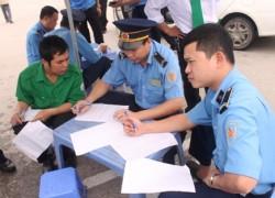 Thanh tra Giao thông đồng loạt kiểm tra taxi trên địa bàn Hà Nội
