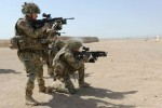 can canh buoi huan luyen cua binh si anh tai afghanistan