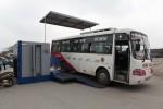 Kiểm tra khí thải và hệ thống phanh xe khách