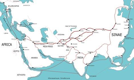 Tìm lại con đường tơ lụa trên Biển Đông