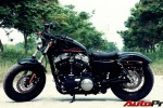 dao pho voi harley davidson forty eight