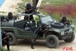 Cận cảnh lính đặc nhiệm Trung Quốc – Indonesia tập trận chống khủng bố