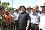 Thủ tướng thị sát vùng lũ đồng bằng sông Cửu Long